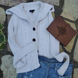 Gap Button down thick Vintage Sweater Size M